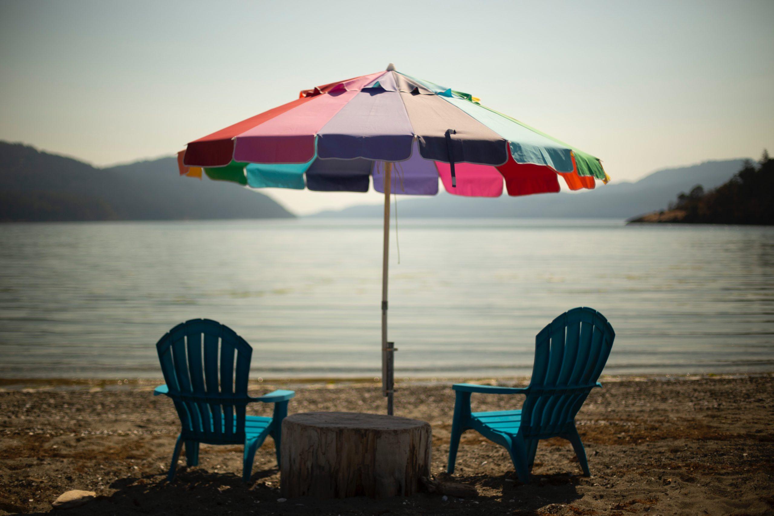 Campingferie, sommer og sol