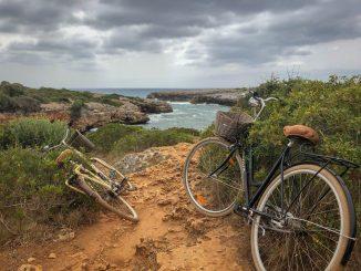 bikes at beach